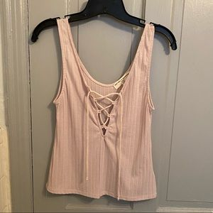 Pink urban outfitters tank top